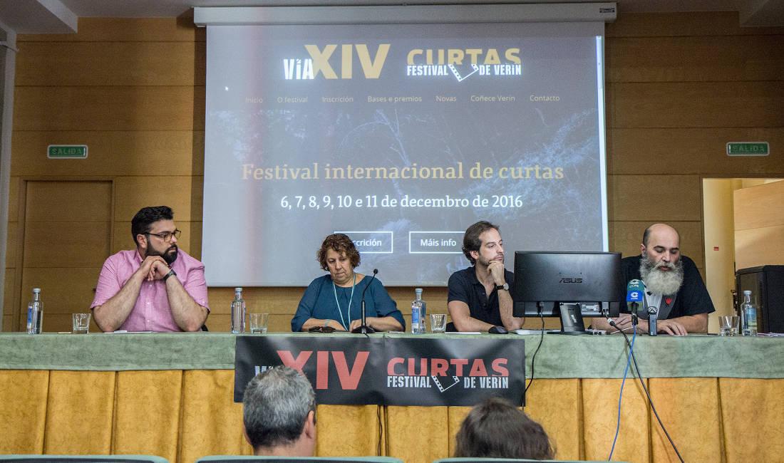 Presentación Festival de curtas de Verín Vía XIV