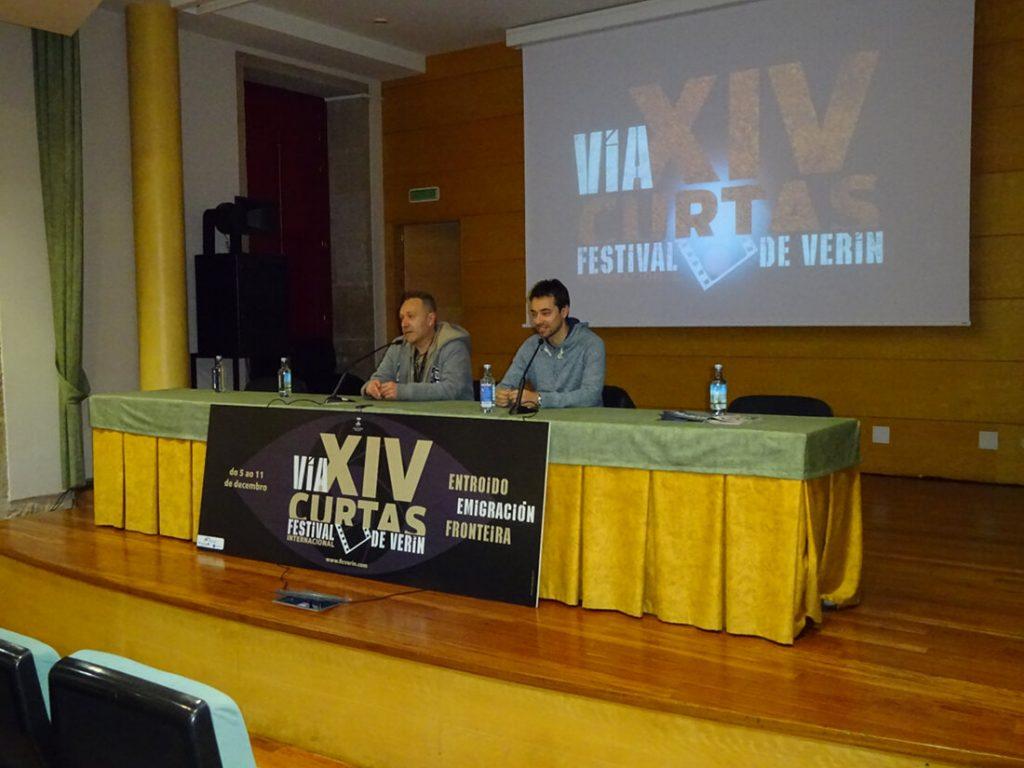 Presentación do programa do xoves 8 de decembro para o Festival de Curtametraxes de Verín