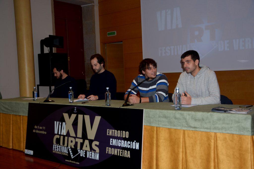 Presentación do programa do venres 9 de decembro para o Festival  Internacional de Curtas de Verín