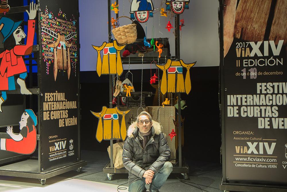 Decorado Festival internacional de Curtas de Verín
