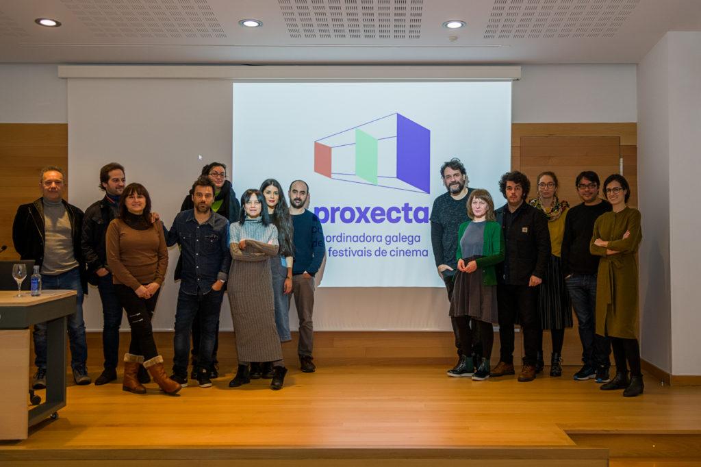Presentación Coordinadora Galega de Festivais de Cinema
